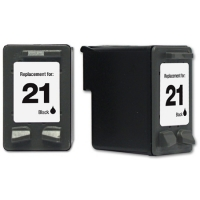 HP 21 Black Remanufactured Ink Cartridge (C9351AN-C)