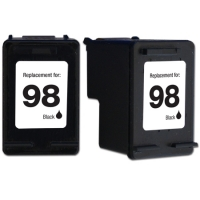 HP 98 Black Remanufactured Ink Cartridge (C9364WN) (#98)