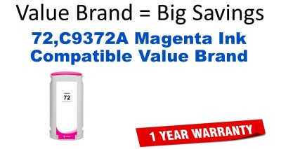 HP C9372A Magenta Remanufactured Ink Cartridge