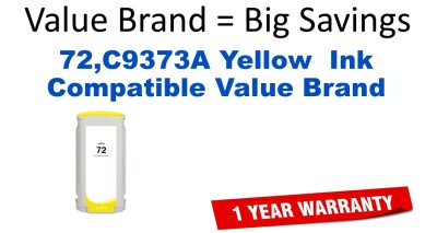 HP C9373A Yellow Remanufactured Ink Cartridge