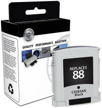 HP 88 Black Remanufactured Ink Cartridge (C9385AN) (#88)
