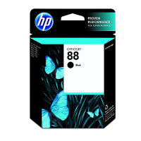 New Original HP 88 Black Ink Cartridge (C9385AN) (#88)