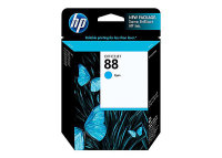 New Original HP 88 Cyan Ink Cartridge (C9386AN) (#88)