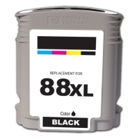 HP 88XL Black Remanufactured Ink Cartridge (C9396AN) (#88XL)