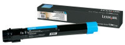 Genuine Lexmark C950X2CG Cyan Toner Cartridge (22,000 Yield)