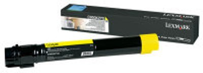 Genuine Lexmark C950X2YG Yellow Toner Cartridge (22,000 Yield)
