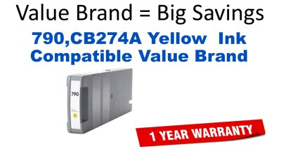 HP CB274A Yellow Remanufactured Ink Cartridge