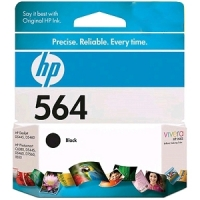New Original HP 564 Black Ink Cartridge (CB316WN) (#564)