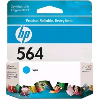 New Original HP 564 Cyan Ink Cartridge (CB318WN) (#564)
