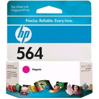 New Original HP 564 Magenta Ink Cartridge (CB319WN) (#564)