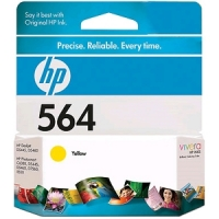 New Original HP 564 Yellow Ink Cartridge (CB320WN) (#564)