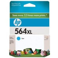 New Original HP 564XL Cyan Ink Cartridge (CB323WN) (#564XL)