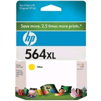 New Original HP 564XL Yellow Ink Cartridge (CB325WN) (#564XL)