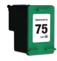 HP 75 Tri-Color Remanufactured Ink Cartridge (CB337WN) (#75)