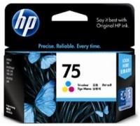 New Original HP 75 Tri-Color Ink Cartridge (CB337WN) (#75)
