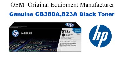 CB380A,823A Genuine Black HP Toner