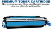 HP 642A Cyan Premium Toner Cartridge (CB401A)
