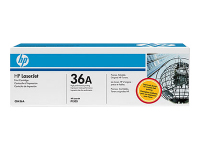 New Original HP 36A Black Toner Cartridge (CB436A)