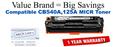 HP CB540A MICR Toner Cartridge (For Print Bank Checks)