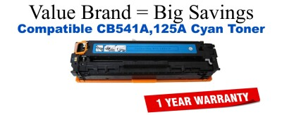 HP 125A Cyan Economy Toner Cartridge (CB541A)