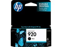 New Original HP 920 Black Ink Cartridge (CD971AN) (#920)