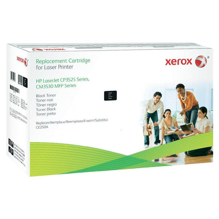 Xerox Brand Black Toner Cartridge (Alternative for HP CE250A 504A) (6900 Yield)