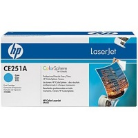 New Original HP 504A Cyan Toner Cartridge (CE251A)