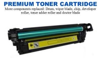 HP 504A Yellow Premium Toner Cartridge (CE252A)