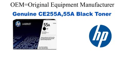 CE255A,55A Genuine Black HP Toner