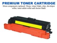 HP 648A Yellow Premium Toner Cartridge (CE262A)