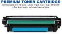 HP 650A Cyan Premium Toner Cartridge (CE271A)