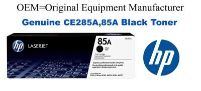 CE285A,85A Genuine Black HP Toner
