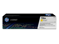 New Original HP 126A Yellow Toner Cartridge (CE312A)