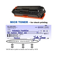 HP CE320A MICR Toner Cartridge (For Print Bank Checks)
