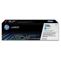New Original HP 128A Cyan Toner Cartridge (CE321A)