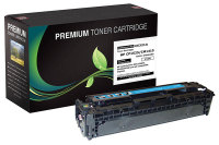 HP 128A Cyan Premium Compatible Toner Cartridge (CE321A)