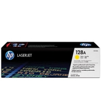 New Original HP 128A Yellow Toner Cartridge (CE322A)