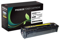 HP 128A Yellow Premium Compatible Toner Cartridge (CE322A)
