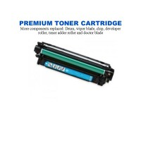 HP 507A Cyan Premium Compatible Toner Cartridge (CE401A)