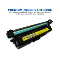 HP 507A Yellow Premium Compatible Toner Cartridge (CE402A)