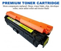 HP 307A Yellow Premium Toner Cartridge (CE742A)