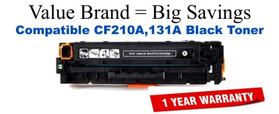 HP 131A Black Economy Toner Cartridge (CF210A)