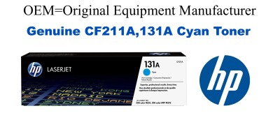 New Original HP 131A Cyan Toner Cartridge (CF211A)