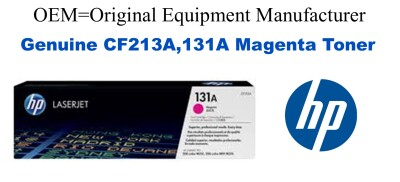 New Original HP 131A Magenta Toner Cartridge (CF213A)