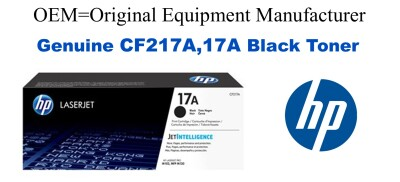 CF217A,17A Genuine Black HP Toner
