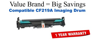 CF219A Black Compatible Value Brand Drum