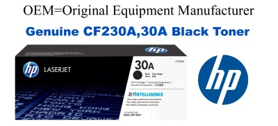 CF230A,30A Genuine Black HP Toner