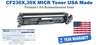 CF230X,30X MICR USA Made Remanufactured toner