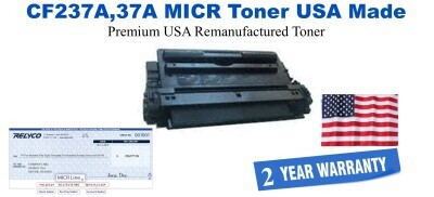 CF237A,37A MICR USA Made Remanufactured toner