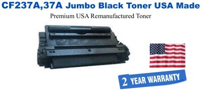 CF237A,37A Jumbo Premium USA Made Remanufactured HP Toner 50% Higher Yield